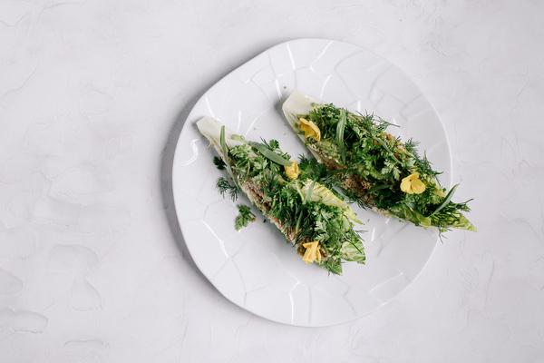 Бренд-шеф ресторана YURA Андрей Коробяк ввел в меню несколько овощных блюд на время Великого Поста