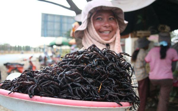 Самые популярные съедобные насекомые