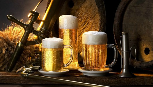 Feed quality beer drink