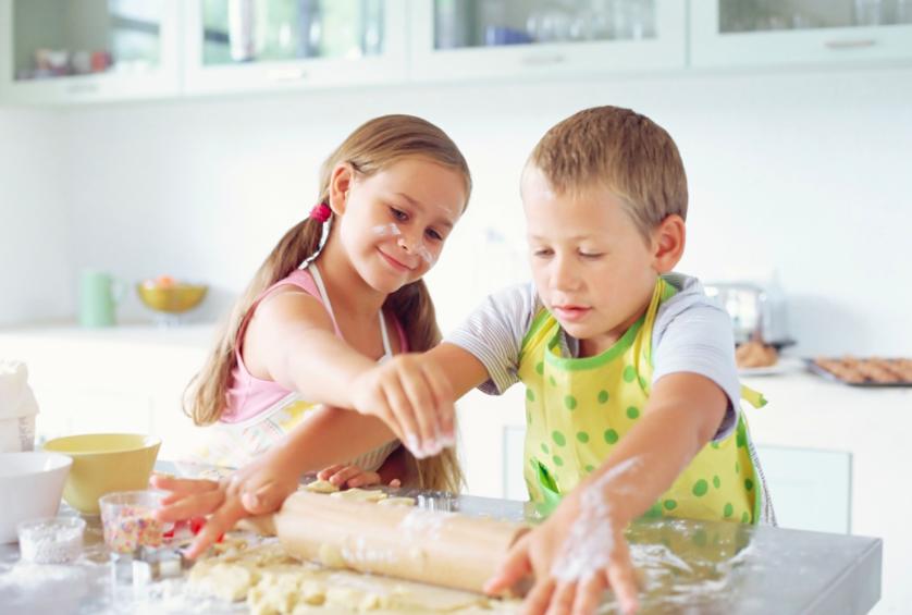 Как научится готовить ребенку самому
