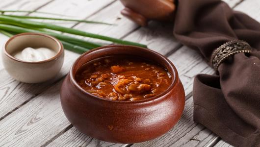 Feed content gustoj sup s mjasom kozlenka v gorshochke so smetanoj                                                      430