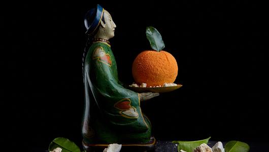 Feed vanilno shokoladniy mandarin s pryanym beze kitayskaya gramota 1