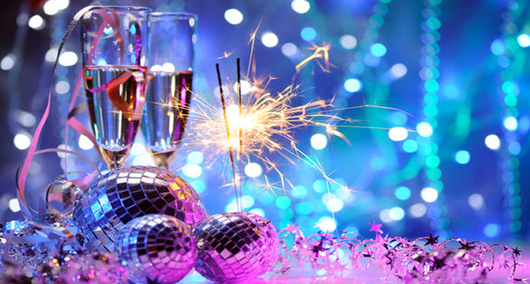 Feed new years eve party slider background