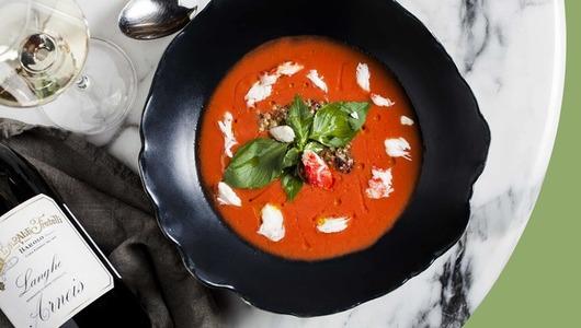 Feed content gaspachcho iz rozovyh pomidor s ovoschyami