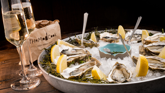 Feed oysters the mad cook