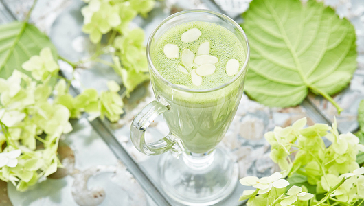 Feed matcha latte halva turandot