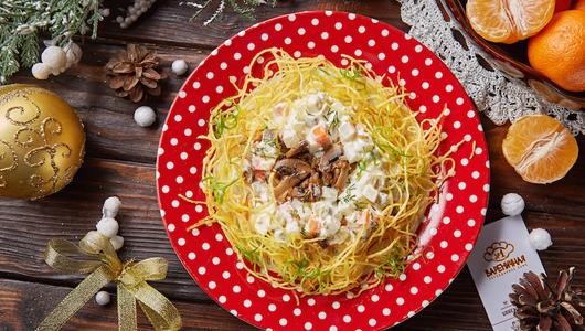 Feed varenichnaya veganskii olivie