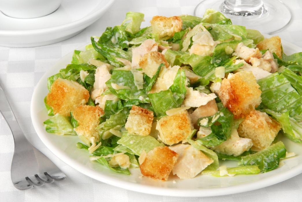 Рецепты цезарь салатов с